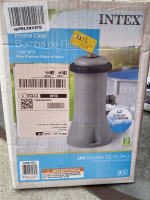 Intex Pool Pump for Sale in Inglewood, CA