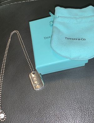 Tiffany & Co. Pendant necklace for Sale in Frisco, TX