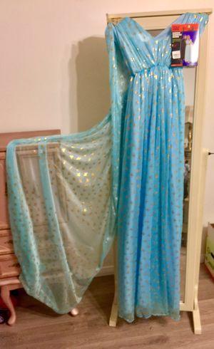 Blue warrior queen Halloween dress for Sale in Riverside, CA