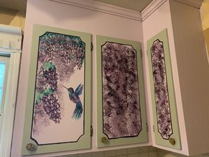 Hand Painted Kitchen Cabinets for Sale in Charlotte, NC