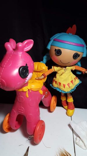 "Lalaloopsy large doll(13"")& pony(12"") for Sale in Zanesville, OH"