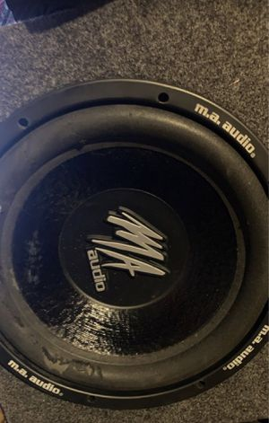 2 12 ma audio subwoofer for Sale in Conyers, GA