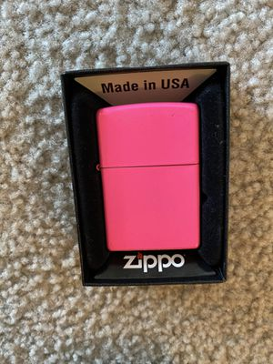 Hot Pink Zippo Case In Box. for Sale in Minneapolis, MN