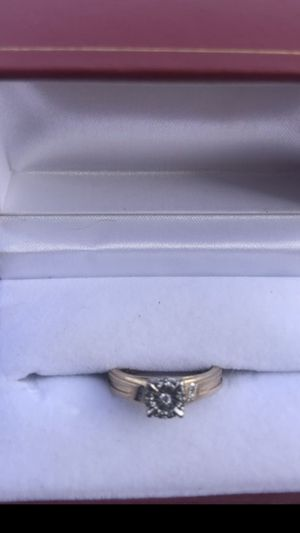 Gold and diamond ring for Sale in Bakersfield, CA
