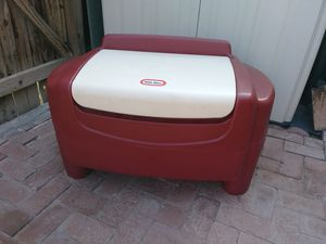 Durable Plastic Toy Storage Chest Play Room Indoor Little Tikes for Sale in Glendale, AZ
