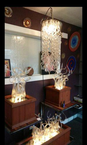 Glass chandelier for Sale in Seattle, WA
