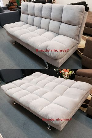 grey Super comfortable sofa bed sleeper couch futon , brown available for Sale in Buena Park, CA