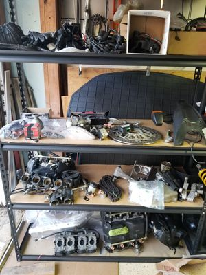 Garage sale - motorcycle parts for Sale in Stafford, TX