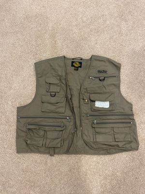 Fishing vest xl for Sale in Naperville, IL