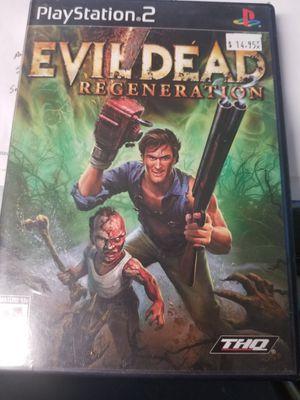 Ps2 Evil Dead Regeneration for Sale in Lakeland, FL