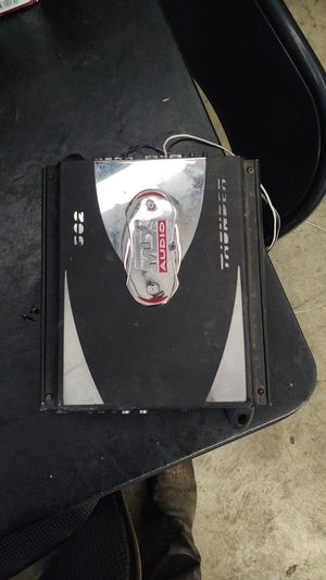 MTX Audio 500 watt 1 Channel amp for Sale in Portland, OR