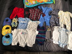 Baby boys clothes 0-3 months - ropa para Niño for Sale in Stafford, TX