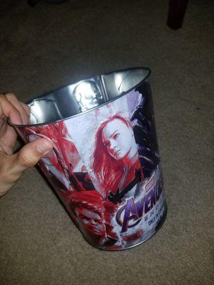 Marvel Avengers Endgame Collectors Bucket AMC for Sale in Dallas, TX