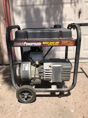 coleman powermate maxa 3000 generator for Sale in San Diego, CA
