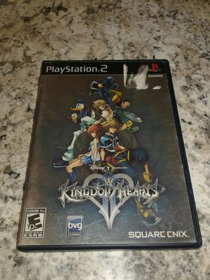 Kingdom Hearts II PlayStation 2 PS2 with case for Sale in El Cajon, CA