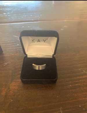 8mm Wedding Band Tungsten Carbide (8 1/2 Men) Ring for Sale in Norco, CA