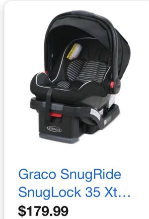 Graco Snug ride new infant car seat for Sale in Cleveland, OH