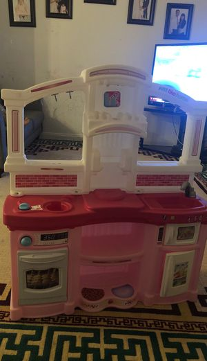 Toy kitchen pink for Sale in San Leandro, CA
