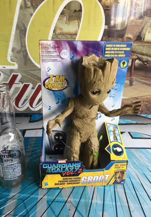 Groot toys Marvels guardian of the galaxy volume two groot Avengers Captain America home tour Doctor Strange Spiderman black panther for Sale in La Habra, CA