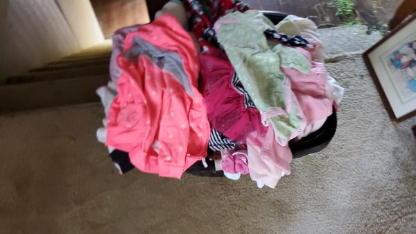 Kids clothes mainly baby clothes have a good bit of them