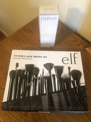 Calvin Klein Eternity Perfume and Makeup Brushes for Sale in Montebello, CA