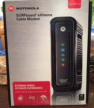 Motorola Surfboard eXtreme Cable Modem for Sale in Hyattsville, MD