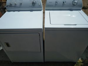 Maytag washer and dryer set Juego de lavadora y secadora Maytag for Sale in Fresno, CA