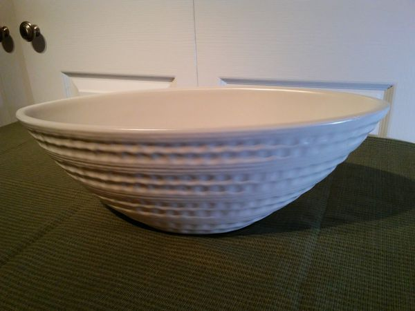 Large Ceramic Console Bowl
