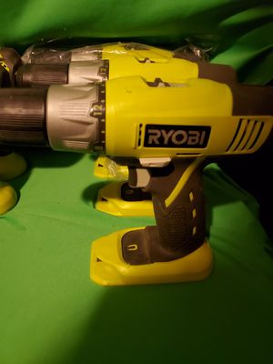 RYOBI CORDLESS 18V DRILL 2 SPEED WITH LEVEL for Sale in Beaumont, CA