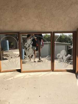 Wall mirrors 3 pieces for Sale in Redlands, CA