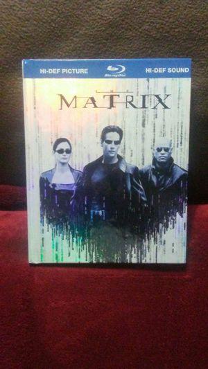 THE MATRIX,Blu-ray disc,book style case for Sale in Boston, MA