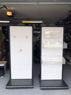 Metal Slat Wall Portable Displays for Sale in Delray Beach, FL