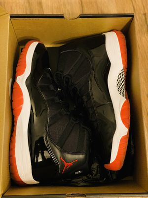 "Air Jordan Retro 11 "" Bred 2019 "" for Sale in Saint Charles, MO"