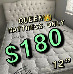 ‼️FREE DELIVERY💥 ‼️‼️🚚🚚 ✅✅ BRAND NEW PILLOW TOP MATTRESSES 💯COLCHONES NUEVOS PILLOW TOP 💯 TWIN $120 ❌ $160 With Box Spring💥 QUEEN MATTRESS for Sale in Commerce,  CA