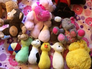 Stuffed animals NEW (some with tags) for Sale in Escondido, CA