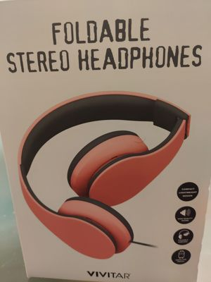 VIVITAR Foldable stereo headphones for Sale in Las Vegas, NV