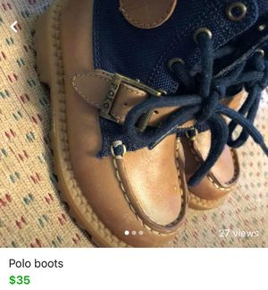 Polo boots $35 6.5c for Sale in Kentwood, MI