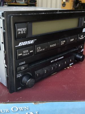 Bose 6 CD Radio Changer double Din for Sale in Clermont, FL