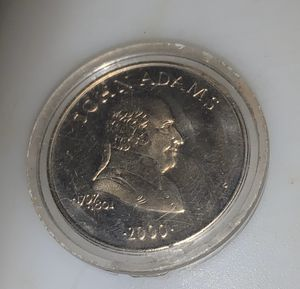 John Q. Adams 5 Dollar Coin Mint Condition for Sale in Brookneal, VA