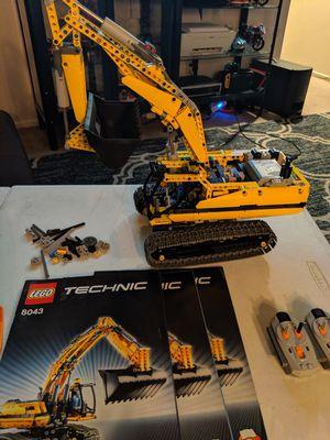 Lego technic excavator 8043 for Sale in San Diego, CA