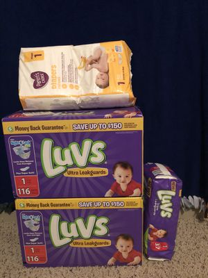 Luvs diapers for Sale in Richardson, TX