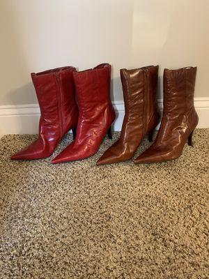 Nine West heel boots for Sale in Washington, DC