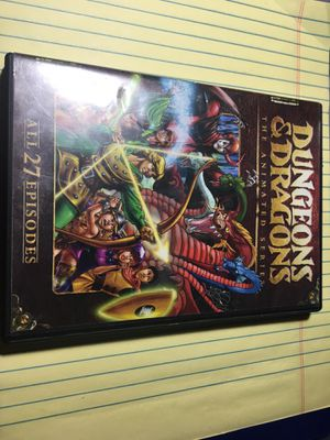 Dungeons and dragons the animated series dvd for Sale in Cortez, CO