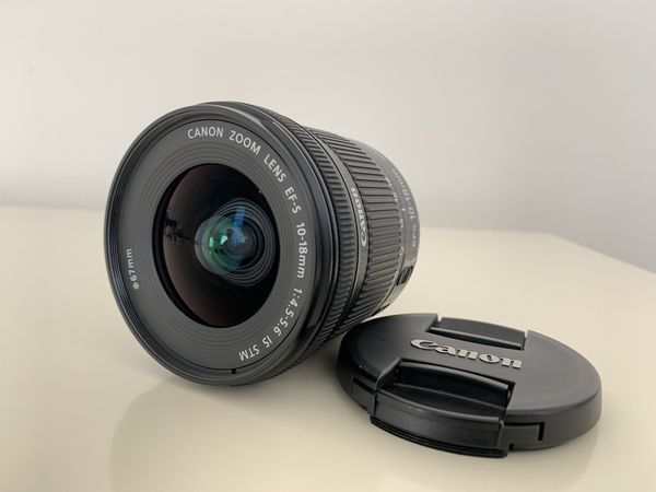 Canon 80e with 10-18 STM IS lens