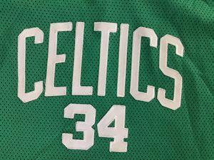 Vintage Reebok Celtics Jersey Dress #34 Stitched for Sale in Tacoma, WA