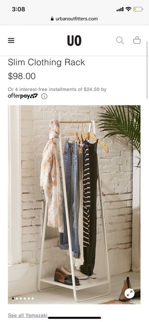 Urban Outfitters slim clothing rack for Sale in Boulder, CO