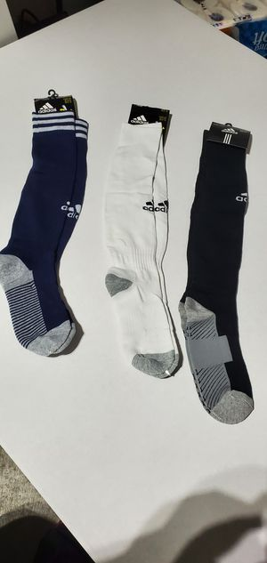 Adult and kids adidas socks $5 ea. for Sale in Los Angeles, CA