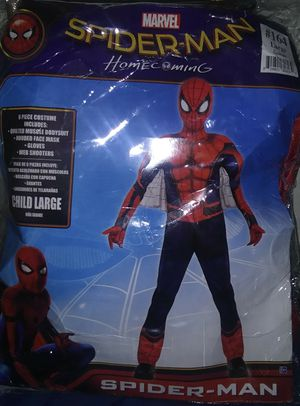 SPIDER-MAN HALLOWEEN COSTUME for Sale in Fresno, CA