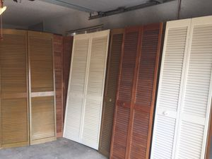 Bifold , louvered doors for Sale in Port St. Lucie, FL