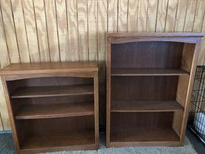 Oak cabinets/storage shelves for Sale in Granite Quarry, NC